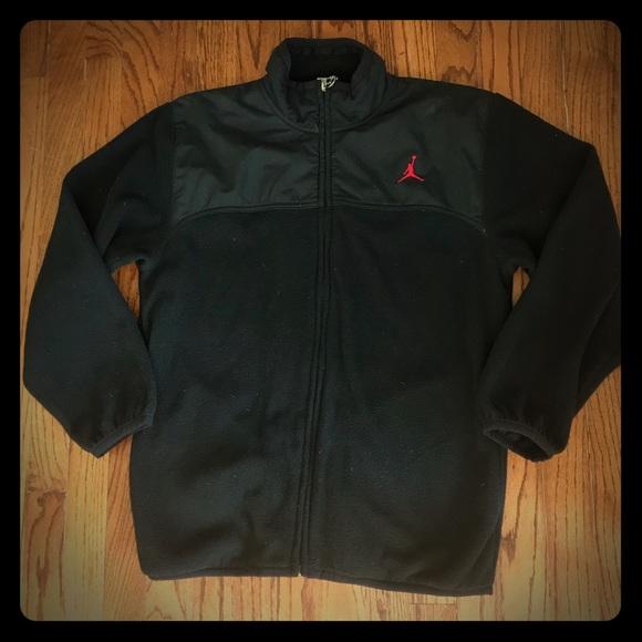 fa971ba4d678 Jordan Other - Nike Jordan Jumpman Fleece Jacket Sz L